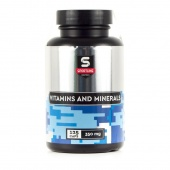 Витамины SportLine Vitamins and Minerals 125cap