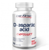 BeFirst D-aspartic acid capsules 120 капсул
