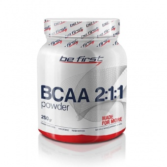 BeFirst Be First BCAA 2:1:1 Powder 250 гр