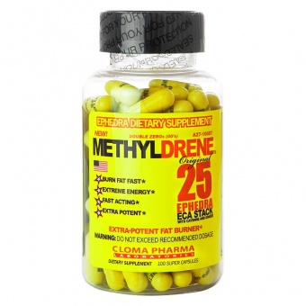 Methyldrene 25 100 cap