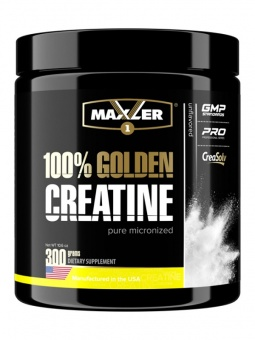 100% Golden Micronized Creatine 300 g