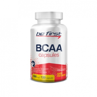 BeFirst BCAA Capsules 120 капсул