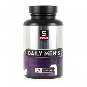 Витамины SportLine Daily Men's 125tab